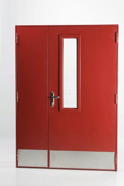 дверь металлическая глухая противопожарная